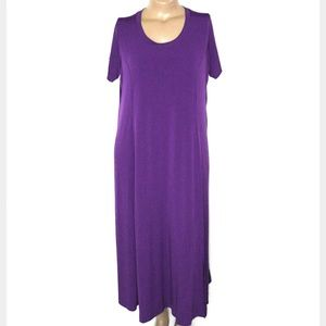 CCO🆕Woman Within 18P/20P, Purple Maxi
